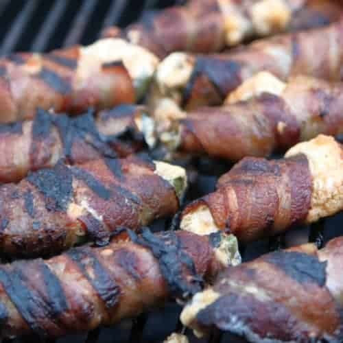Bacon Wrapped Jalapeno Peppers