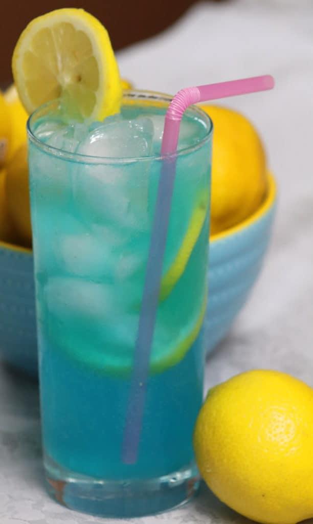 Electric Lemonade Vodka Cocktail