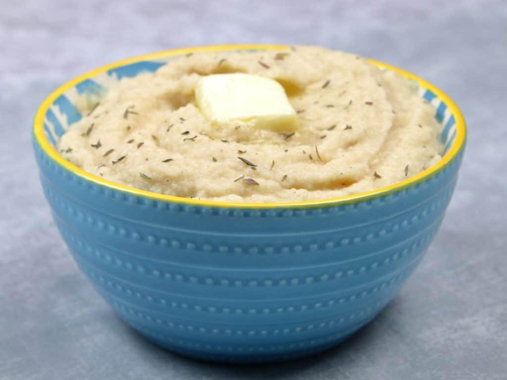 Bowl of Mashed Cauliflower