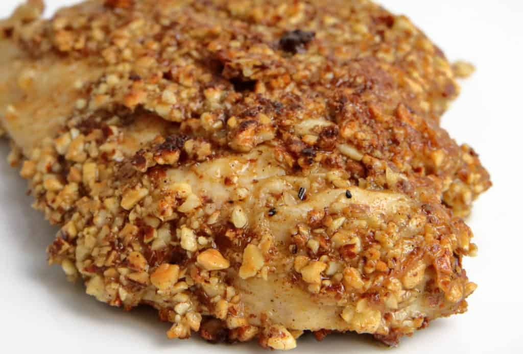 Almond Crusted Chicken Breast