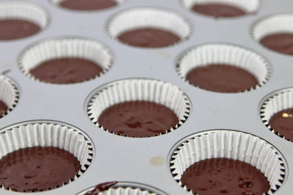 Peanut Butter Chocolate Cupcake Batter