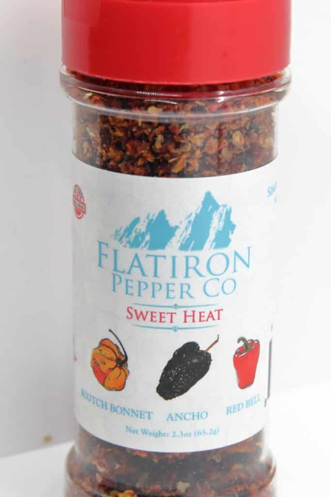 FLat Iron pepper co sweet heat