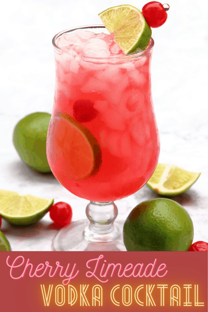 Pin for Pinterest with a photo of the drink.